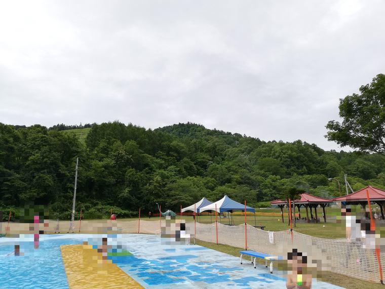 ファミリーランドみかさ遊園のプール
