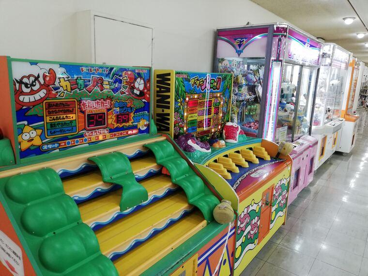 東急百貨店屋上階のゲームセンター
