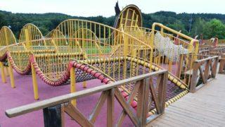 カムイの杜キャンプ場遊具